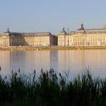 La Ville de Bordeaux en France
