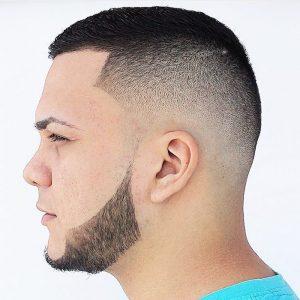 Belle coupe de cheveux pour homme
