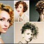 Cheveux courts et bouclés, coupes très modernes et originales