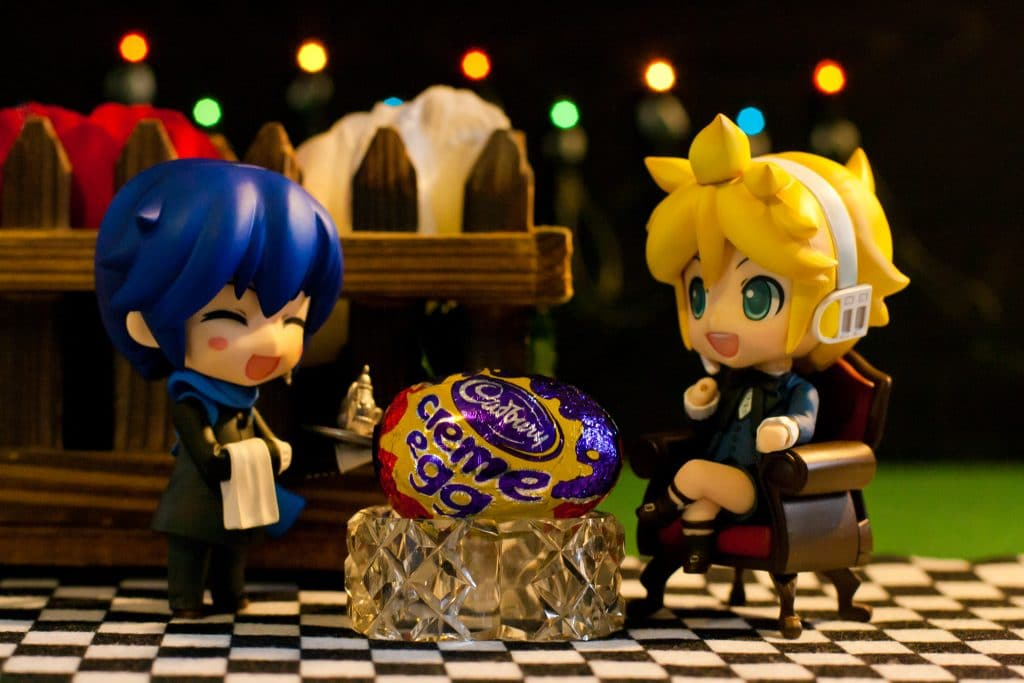 Les œufs Cadbury