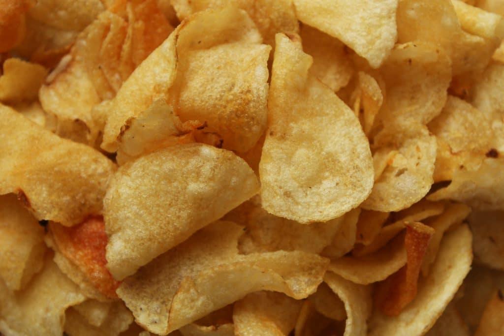 Les Chips au goût très américain