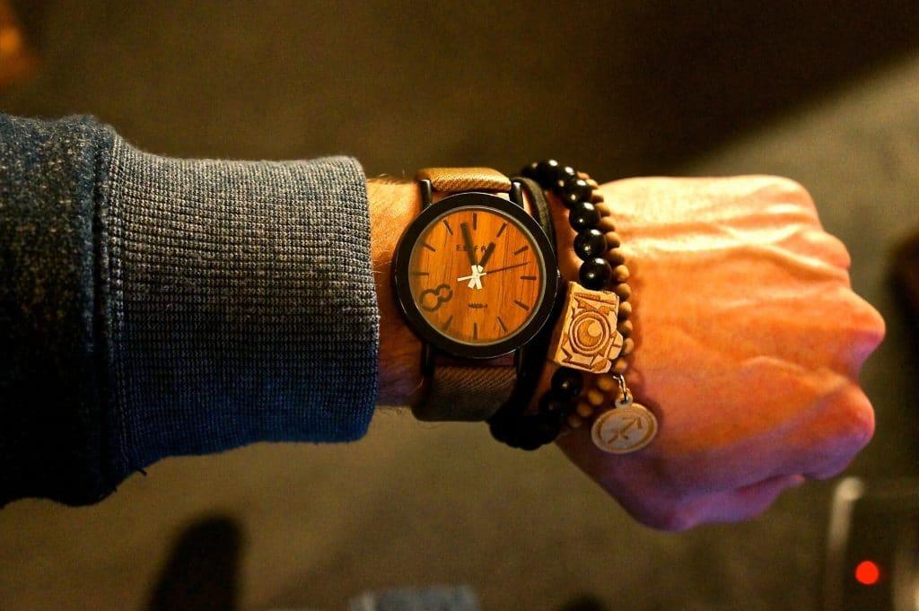Optez pour la montre en bois