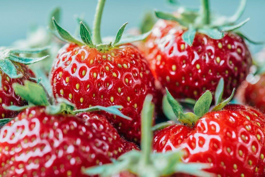 Fruits et légume de saison période fraise