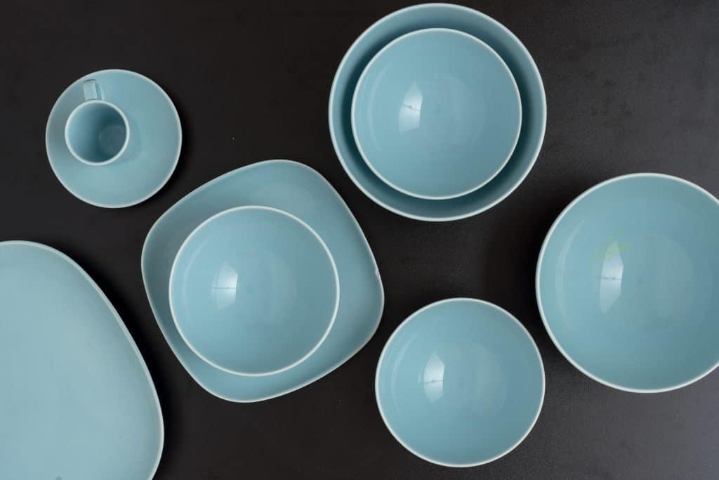 Les différentes possibilités de vaisselle