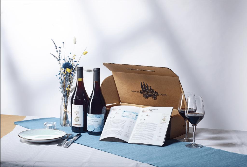 Box vin offrir