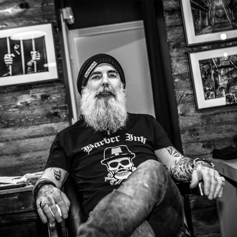 Beard - Black and white