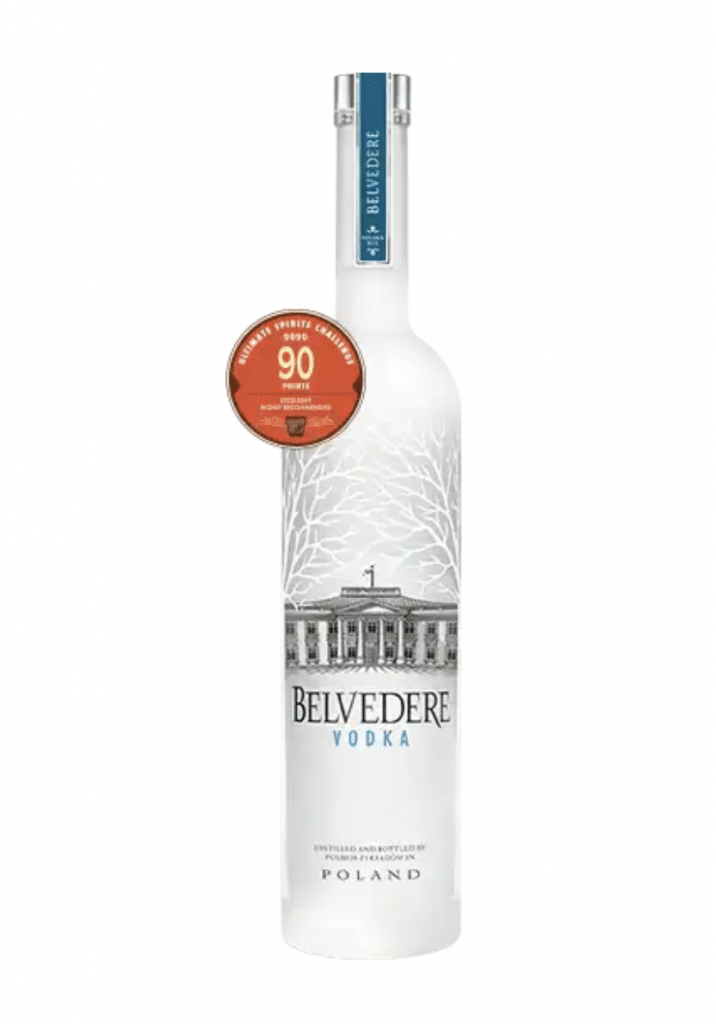 Belvedere meilleure vodka