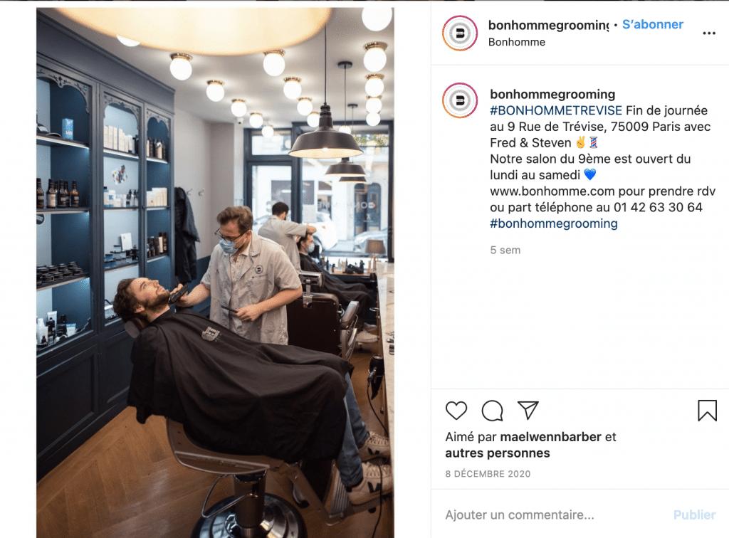 Bonhomme meilleur barbier paris