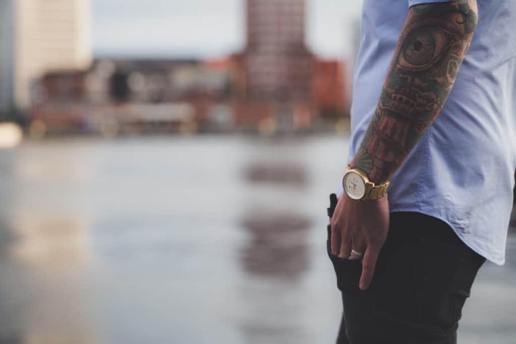 Où se faire un tatouage pour un homme ?
