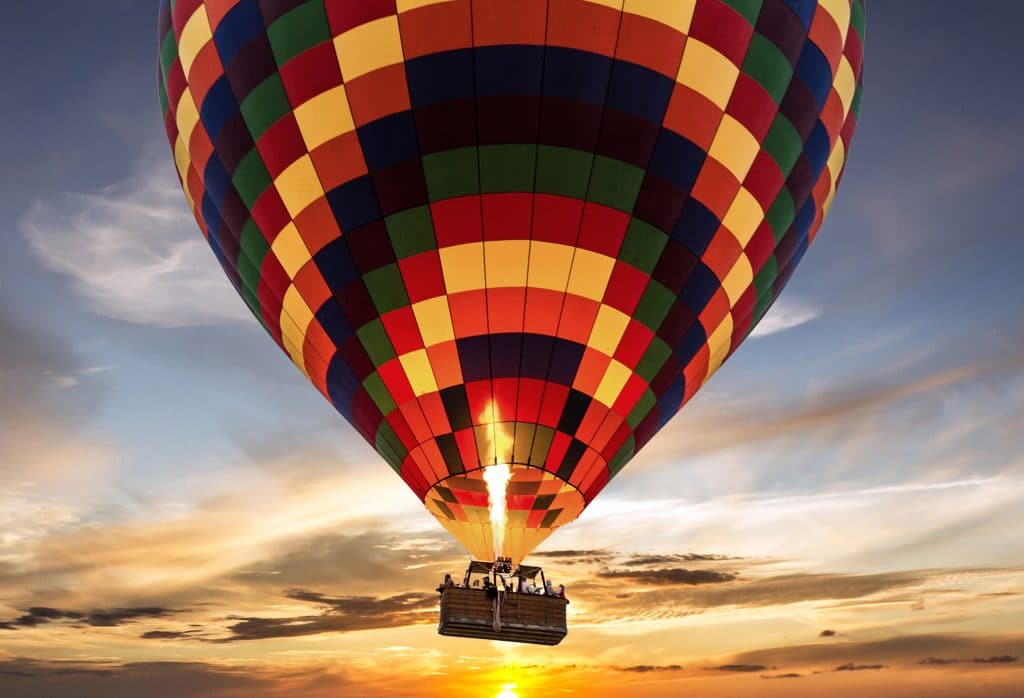 Comment se passe un vol en montgolfière ?