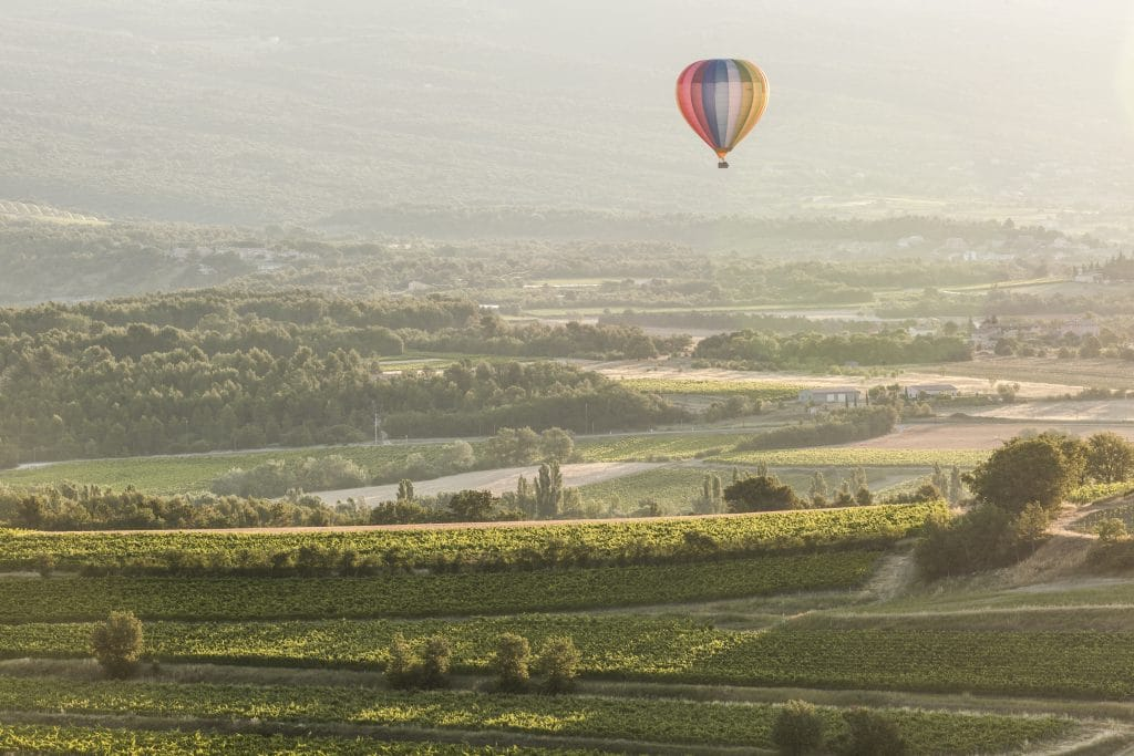 Où faire un vol en montgolfière ?