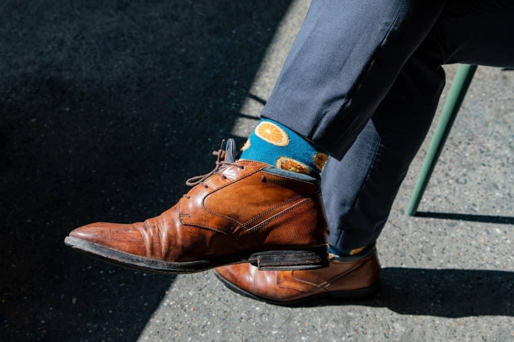 Les différentes chaussettes à porter avec un costume