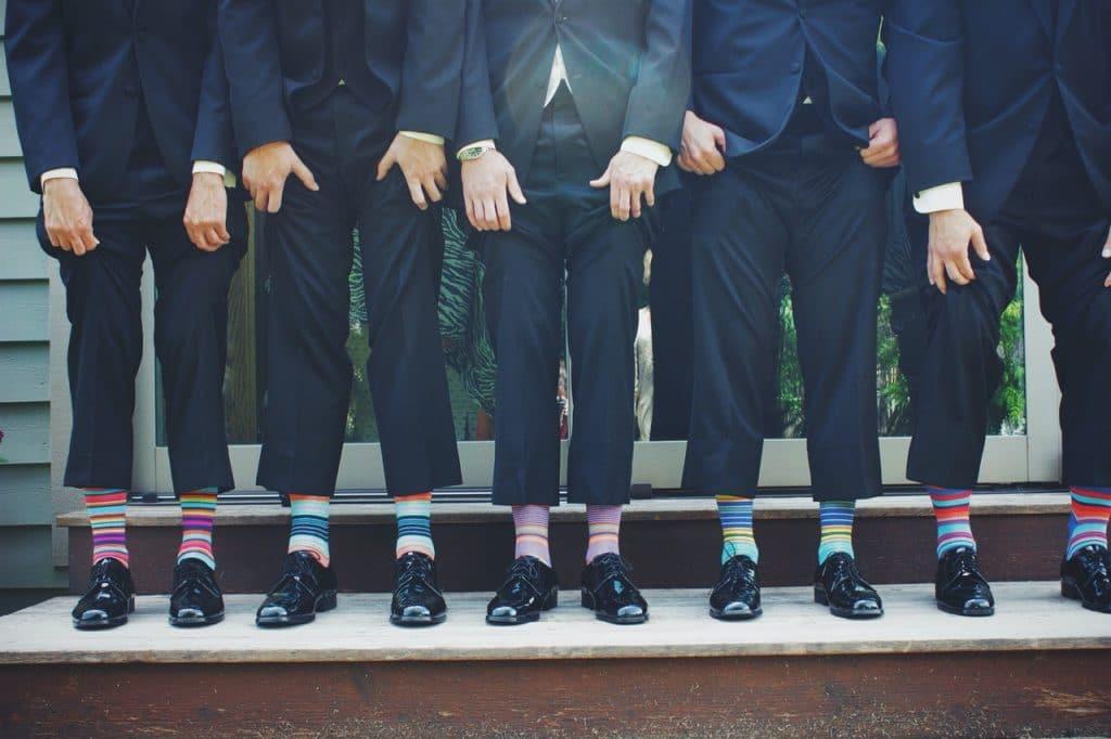 Choisir des chaussettes avec son costume en fonction de sa personnalité